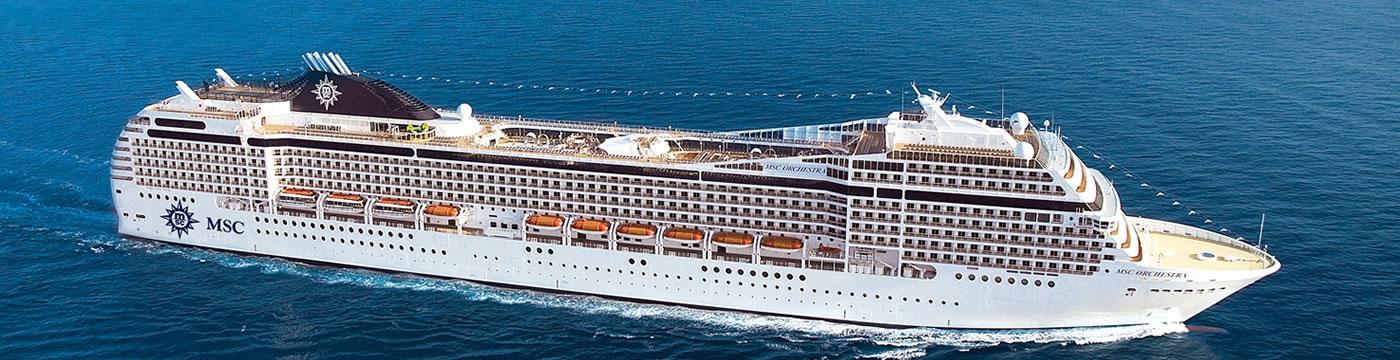 Cruceros Barcos MSC Cruceros MSC